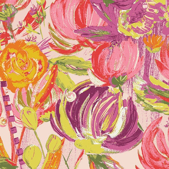 Art Gallery Fabrics Bari J. Sage BTY by the yard-available 9/25/17