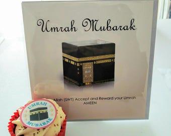 Umrah Mubarak Card / Umrah Mubarak Decorations / Umrah Balloons / Umrah  Mubarak Banner / Umrah Mubarak Balloons / Umrah Mubarak /