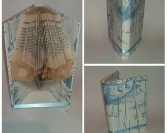 Boat themed Dad book fold