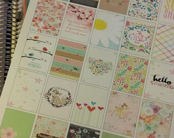 Printable Spring Boxes for Planners