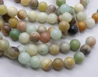 20 8 mm natural amazonite