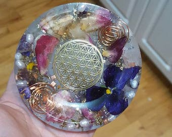 Bowl flower of life