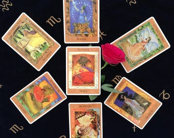 The Law of Attraction/Vibration Tarot Reading, Same day psychic, same day reading, same day clairvoyant.