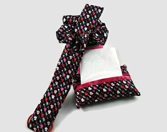 Girls hair accessories, Hair scrunchie, Hearts and arrow, Childs headband, Tissue pack holder, Girls birthday gift, goody bag, Easter basket
