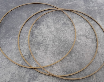 8 cm, big round ring, rings, Metal bronze, jewelry, dream catcher frame support