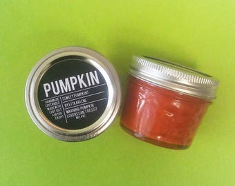 Pumpkin Candle - Scented Soy Candle - Fall Candles - Fall Decor - Halloween Decor - Halloween Candle -  Pumpkin Scent by Etta Arlene