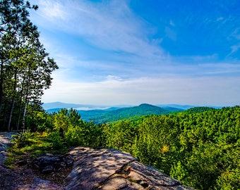 Cat Mountain, Bolton Landing, Adirondack Landscape Photography, Adirondack Mountains, Fine Art Print, Landscape Print, Adirondack Scenery