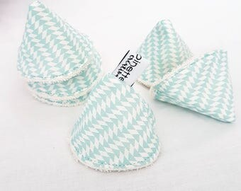 Pee cone protects pee pee teepee, pare pee * teepees to wee * cotton GOTS organic Terry for boy * graphic mint *.