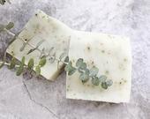YOGA Soap, Peppermint Lavender Soap, Natural + Vegan + Palm Free Soap