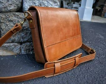 Mens Leather Satchel | Leather Crossbody Bag | Handmade Leather Messenger Bag Men | Leather Laptop Bag | Leather Bag | Leather Satchel Women