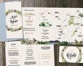Custom Wedding Invites for Robyn & Alex
