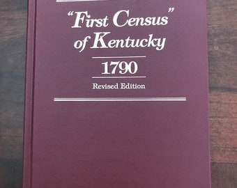 First Census of Kentucky - 1790