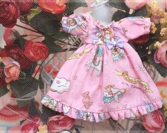 Dress Little Twins Star Pink