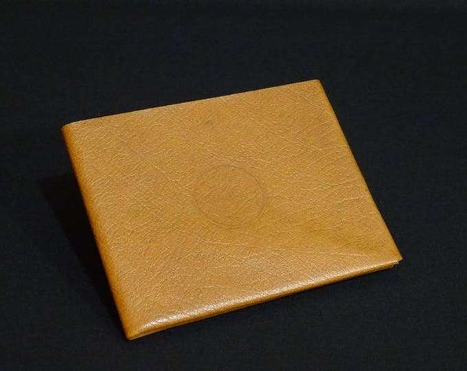 8Pocket Wallet - Oak Texture - Kangaroo leather with RFID credit card blocking - Handmade - James Watson
