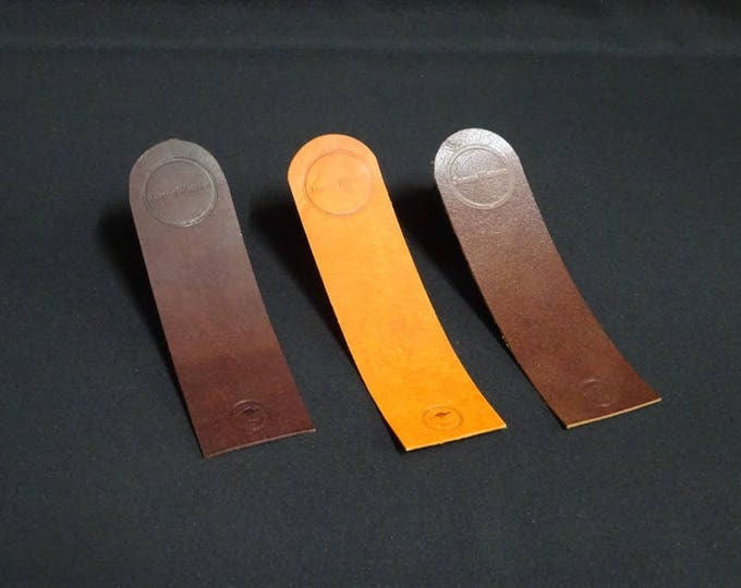 James Bookmark - Handmade using genuine kangaroo leather