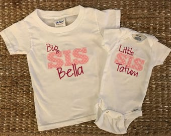 Big Sister/Little Sister Shirt