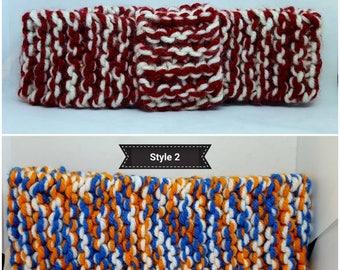 Knitted ear warmers/ headbands