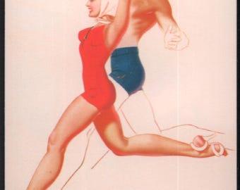The Petty Girl II Trading Card : George Petty Jantzen Insert Card #J3 21st Century Archives 1995