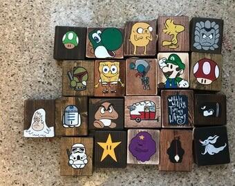 Christmaa Tree Wooden Ornaments