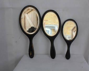vintage handheld mirrors