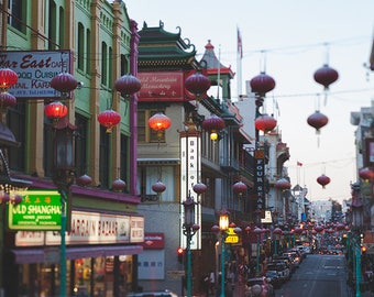 Chinatown Photography, Chinatown Photo, Chinatown Print, San Francisco, Urban Photography, Urban Art, Urban Wall Art, Fine Art Photography
