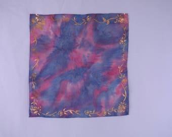Silk Scarf Handpainted