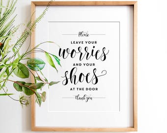 Remove your shoes sign, PRINTABLE art, Take shoes off sign, Mud room decor, Shoes off please, Remove shoes print, Housewarming decor