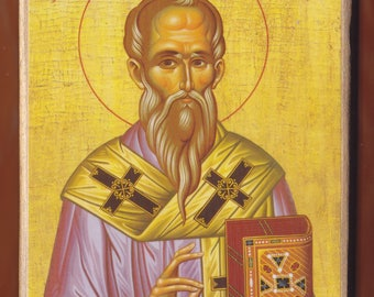 Saint Alexander, Patriarch of Constantinople.Christian orthodox icon.FREE SHIPPING