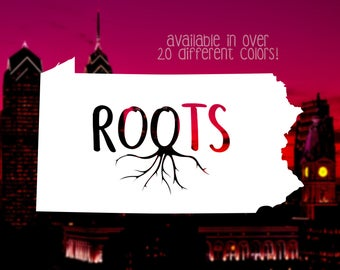 Roots Decal Etsy
