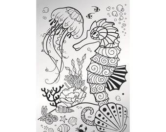 Deep Ocean - stamping plate
