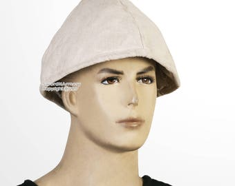 Medieval Cotton Padded Arming Cap for Helmet Coif