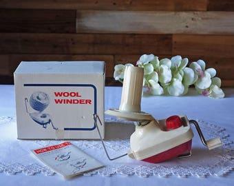 Vintage wool winder
