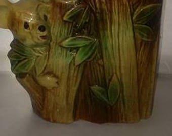 McCoy Koala Bamboo Cookie Jar
