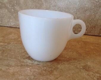 White Federal mug