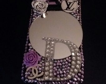 Big mirror with letters phone case
