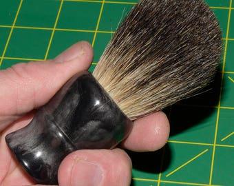 Shaving Brush - 24mm Black Badger