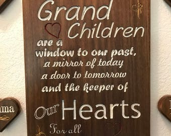 Grand-Children Plaque