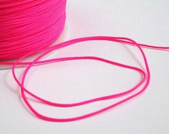 10 m wire hot pink nylon 1 mm
