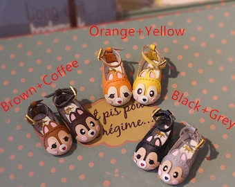 Squirrel Brother Shoes for Nude Blythe Neo Doll DAL Pullip Momoko AZONE S Lati_y Doll Shoes Doll Outfit Doll Accessories Custom Doll Shoes