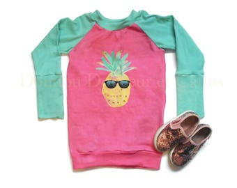 Pineapple, summer, summer tunic