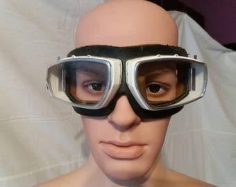 Vintage 1970's Safety Goggles - NEW