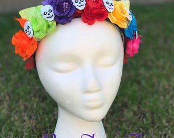 Coco inspired Day of the Dead Headband