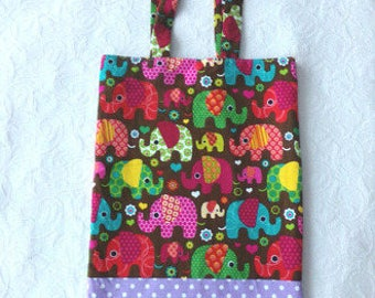 Fabric pattern library bag