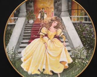 "Kaiser Cinderella Porcelain Plate ""Fairy Tale Collection"" 1984"