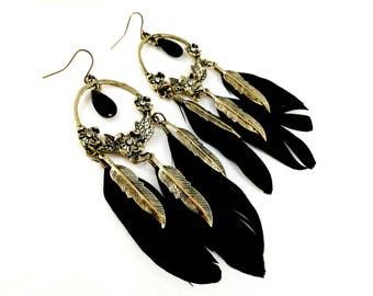 Dreamcatcher Feather Inspired Boho Earrings For Her Women Jewelry Earrings For Her