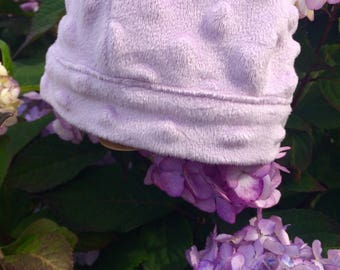 Lavender baby cap