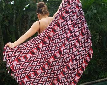 Beach Sarongs/Beach cover up/bohemian Pareos/Beach wear/Summer Scarves * BISSAU SARONG