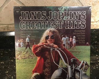 "Janice Joplin ""Greatest Hits"" - Sealed New NOS Vintage LP -  Record Vinyl Album - A Classic - Free Shipping!"