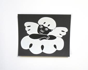 Screenprint - Cherub