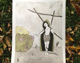 Inktober Illustration #1